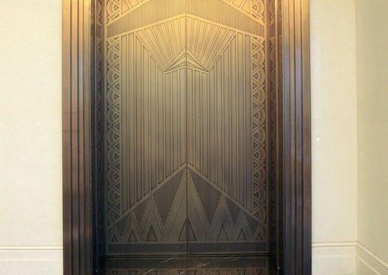 کاور درب آسانسور