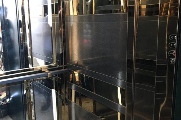 بازسازی و نوسازی کابین آسانسور